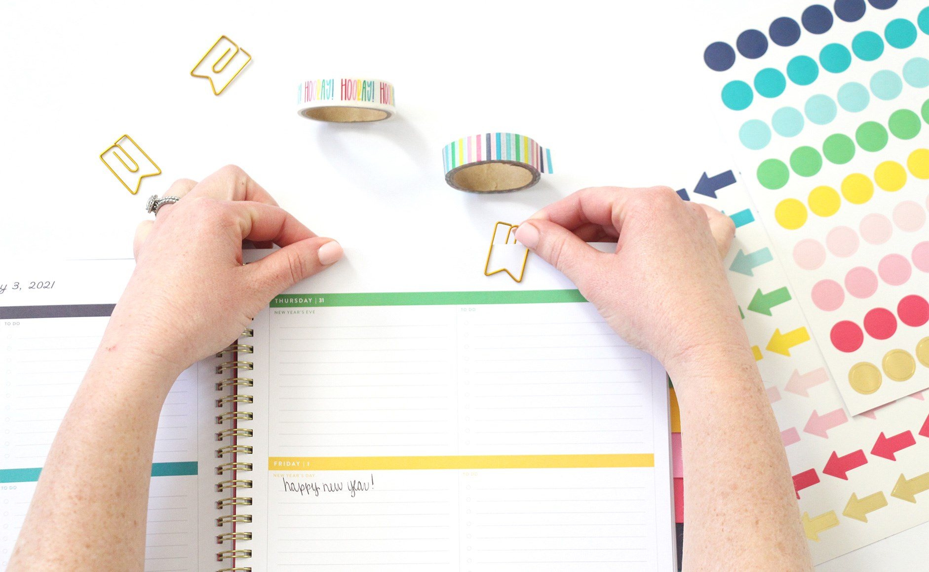 Emily Ley Simplified planner and accessories from AT-A-GLANCE